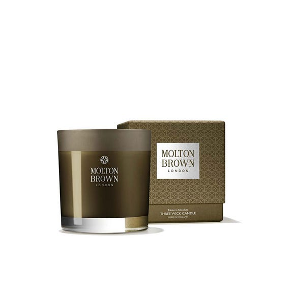 Tobacco Absolute 3 Wick Candle,480G