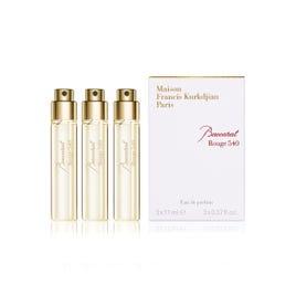 Baccarat Rouge 540 Refills Eau De Parfum, 3x11ml